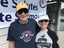 Pete Seymour and Laura 2020