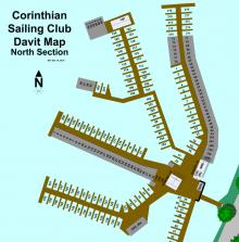 CSC North Davit Map